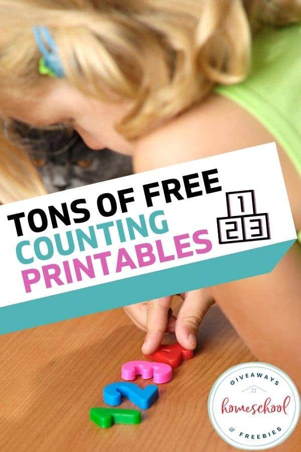 Tons of FREE Counting Printables