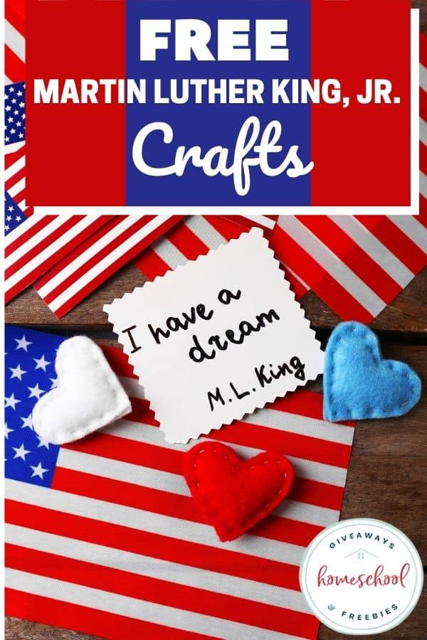 FREE Martin Luther King Jr. Crafts
