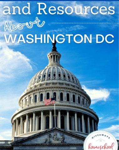 Free Printables and Resources About Washington, D.C. #WashingtonDCprintables #WashingtonDCresources #WashingtonDCunitstudy