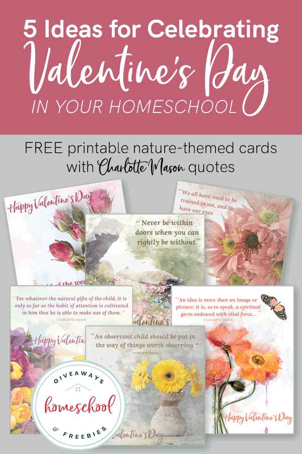 free Valentine's Day homeschool curriculum