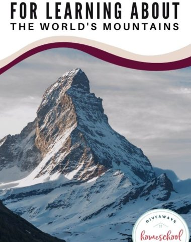 Free Resources for Learning About the World's Mountains. #worldmountains #mountainprintables #mountainresources #landformunit #worldmountainsresources