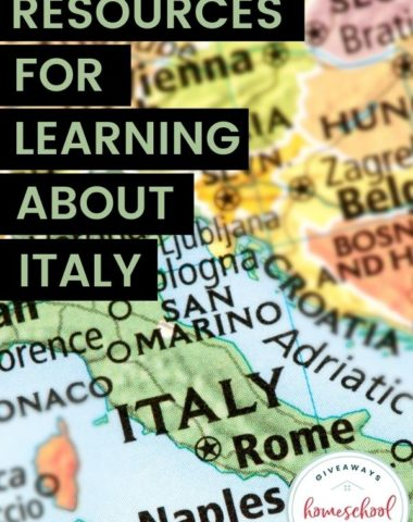 Resources for Learning About Italy. #Italyprintables #italyresources #learningaboutitaly