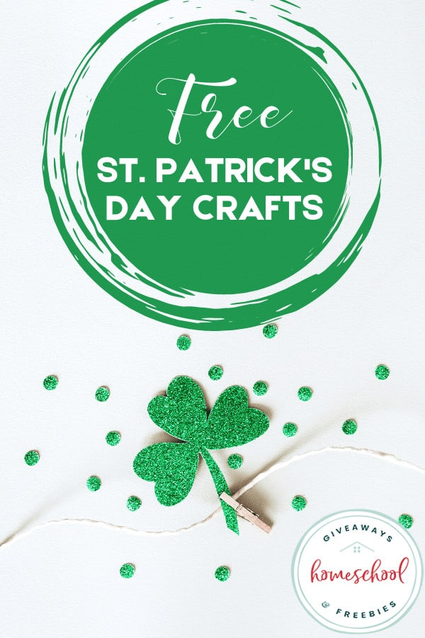 FREE St. Patrick's Day Crafts