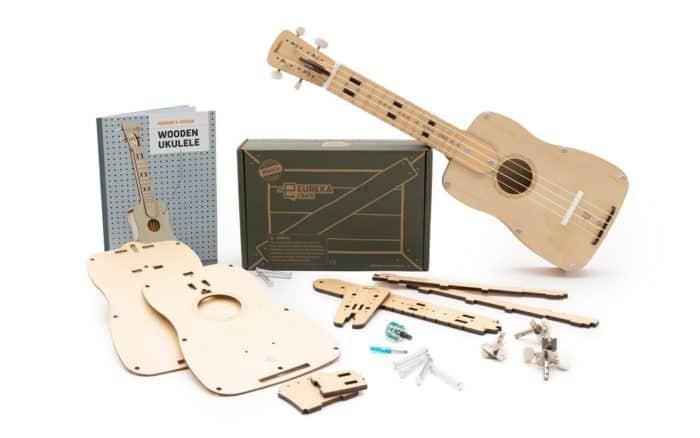 wooden ukulele kit