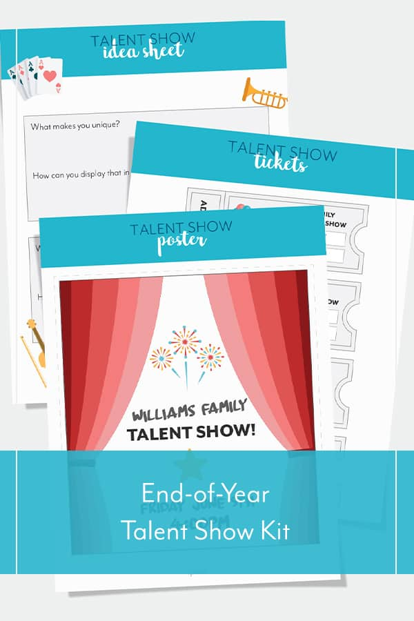 End-of-Year Talent Show Kit