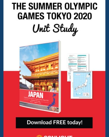 Free Tokyo Olympics Unit Study from Sonlight